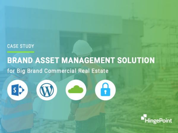Brand Asset Management Solution for Big Brand Commercial Real Estate Developers